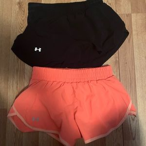 XS UA shorts! Great condition!